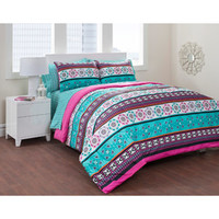 Walmart: Formula Mosaic Tile Bed in a Bag Bedding Set