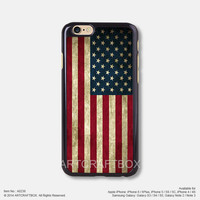Vintage American flag Free Shipping iPhone 6 6 Plus case iPhone 5s case iPhone 5C case 238
