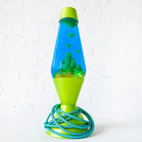 20%SALE Druhhhgz Metallic Lime Green Lava Lamp