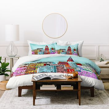 Brian Buckley New York Living Duvet Cover