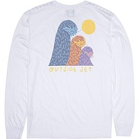Vissla Outside Sets L/S Pkt Tee