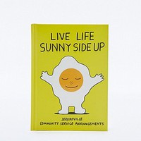 Live Life Sunny Side Up Book - Urban Outfitters