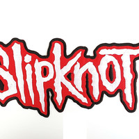 """SLIPKNOT Big Iron On Sew On Embroidered Back Patch 11.6""""/29cm"""