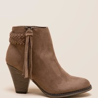 MIA Finnegan Braided Tassel Ankle Boot