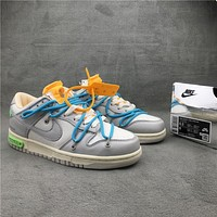OW x Dunk Low¡°21 of 50¡± OW DM1602-115 36-46