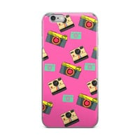 Nerdy Polaroid Camera iPhone Case (6/6s and 6/6s Plus)
