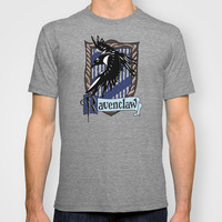 Harry potter Ravenclaw team flag emblem Adult Tee T-shirt by Three Second