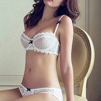 White Lace Bra and Panty