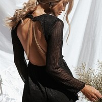 Marbel Mesh Playsuit - Playsuits by Sabo Skirt