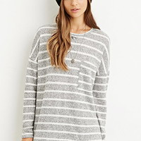 Striped Pocket Sweater