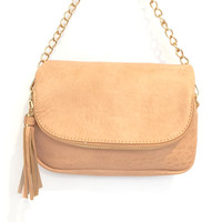Dandy Crossbody Handbag In Blush Pink