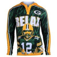 Green Bay Packers Rodgers A. #12  Official NFL Polyester Player Hoody Tee