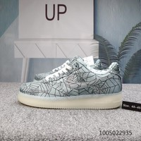 HCXX N545 Nike Air Force 1 Spider Web Noctilucent Casual Skate Shoes