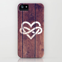 Love And Infinity iPhone & iPod Case by hyakume