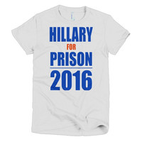 Hillary for Prison women's t-shirt