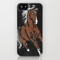 Horse iPhone Case by Jessica Slater Design & Illustration