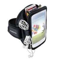 Avantree iPhone 6 6s plus Armband, Running Gym Jogging Exercise Neoprene Sports Armband for Samsung Galaxy Note 4/3 S6/S5 and More - Trackpouch