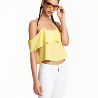 H&M Off-the-shoulder Blouse $17.99