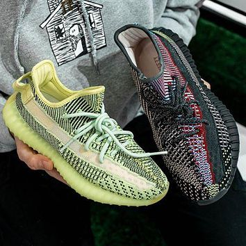 ADIDAS Yeezy 350 classic hot sale reflective men women sneakers Shoes