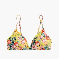 Women's French Bikini Top In Liberty® Magical Bouquet - Women's Swimwear | J.Crew