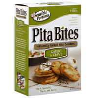 Sensible Portions Pita Bites Garlic Chive (12x5oz)