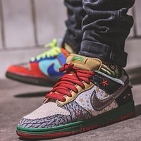 Nike Dunk SB Low What the Dunk Top Version Sneakers Shoes