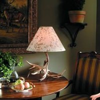 Whitetail Antler Lamp