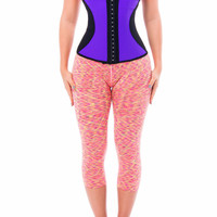 Waist Trainer Purple/Black