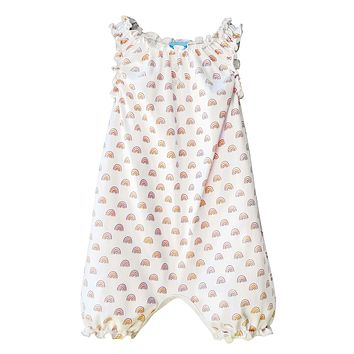 Sleeveless Romper by Feather Baby