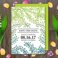 Save the Date Invitation Printable/Template/Instant Download/Digital/DIY/Customize/Personalized