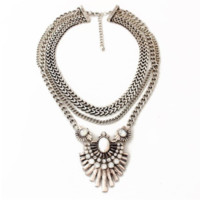 Bex Bib Statement  Necklace