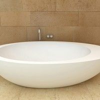 Ceramic bathtub Le Giare Collection by Ceramica Cielo | design Claudio Silvestrin