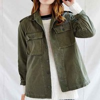 Urban Renewal Surplus Shirt Jacket- Green