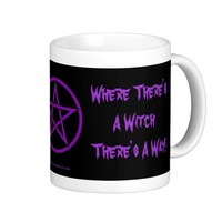 Where There's a Witch There's a Way! Wiccan Mug