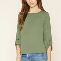 D-Ring Sleeve Top
