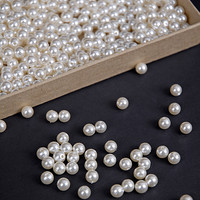 Faux Pearl Vase Filler - Small Beads