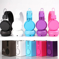 Folding Gaming Headphone Headphones Earphones Headset with Microphone for mp3 phone