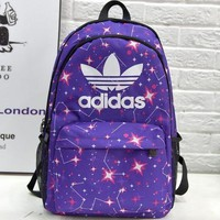 One-nice™ Adidas Fashion Print Sport Shoulder Bag Laptop Backpack School Backpack