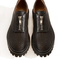 Jeffrey Campbell Tanya Zip Loafers