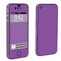 Amazon.com: Apple iPhone 4 or 4s Full Body Decal Vinyl Skin - Hot Purple By SkinGuardz: Cell Phones & Accessories