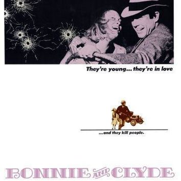 Bonnie And Clyde poster 16inx24in