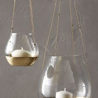 Hanging Bonaire Votive by Anthropologie Gold