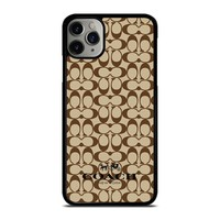 COACH NEW YORK BROWN iPhone Case Cover