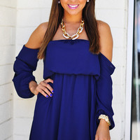Happily Ever After Dress: Navy Blue | Hope's