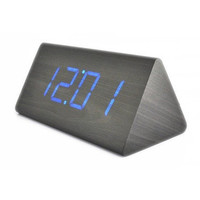 LED Wood Desktop Cool Digital Alarm Clock by Julyjoy