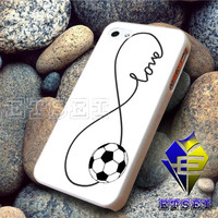 Infinity Love Soccer Ball Sports For iPhone Case Samsung Galaxy Case Ipad Case Ipod Case
