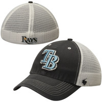 Tampa Bay Rays '47 Brand Blue Mountain Flex Hat – White