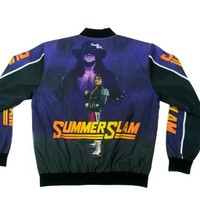"WWE Summer Slam 1997 20th Anniversary Jacket ""Bret Hart Vs. Undertaker"""
