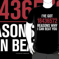 I've Got 18436572 Reasons Why I Can Beat You (Reverse) by Albany Retro