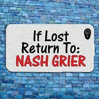 Funny Nash Grier Quote iPhone Case Cute iPod Cover Custom Phone Cool Fun Custom
